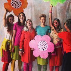 Yeee! Photoshoot for spring 2018- ecocotton for all Women in the world! #gudrunsworld #gudrunsjoden #ecocotton #greenlife #colorfulwomen #swedishfashion
