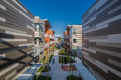 Sage Park Apartments - Gardena, California | Steinberg Architects | LEED Certified Gold | Photography by Nico Marques | Residential | Energy Efficient | Sustainability