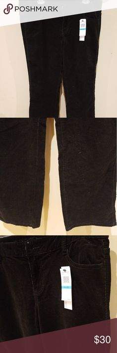 Flared – Womens Calvin Klein Classic Fit Flare Leg Pants Navy