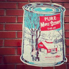 Work by whatisadam   #street #art #Montreal