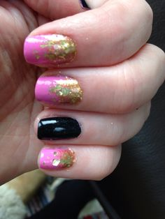 Not the best photo but isn't this a lovely pink - Brompton Place by Nails Inc