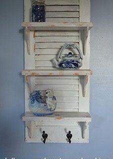 Shutter Shelf from Follow Your Heart Woodworking