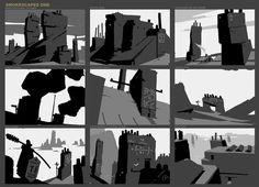 ArtStation - Smokescapes - The Sentries, Georgi Simeonov: