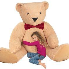 6' Giant Bear from Vermont Teddy Bear. $299.99 #ValentinesDay #Gift #TeddyBear