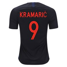 536fb6c1 Andrej Kramaric 9 Croatia 2018 World Cup Away Soccer Jersey Soccer Fans, Soccer  Jerseys,