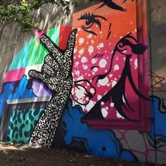 """Photo of All City Murals - Atlanta, GA, United States. My piece for 2017 Forward Warrior event titled """"Swipe Left"""""""