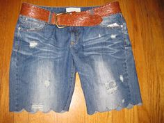 Green Eggs and Hamm: DIY Jean Re-do