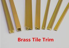 Brass Tile Edge Trim (Niu Yuan Factory) Import from China, Competitive price and quality.  Email: info@fsniuyuan.com  We are selling in wholesale.
