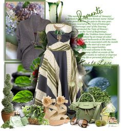 """In The Garden"" by gaburrus on Polyvore"