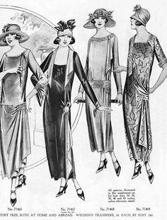 Weldons Ladies Journal Patterns 1920s