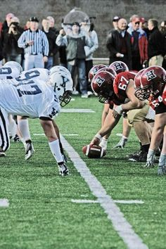 Bulldogs vs. Crimson