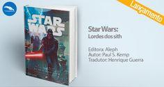 """O livro """"Star Wars: Lordes dos Sith"""", de Paul S. Kemp, é o novo lançamento da Editora Aleph. Conheça a nova aventura da saga! Tudo começa com Darth Vader sendo recém nomeado como lorde Sith, com seu sabre de luz e com o lado negro da força. Aventure-se!"""