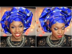 Attaché de foulard | Le gele yoruba | Princesse Pagaille - YouTube