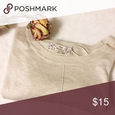 📍CLEARANCE Just took off tags but never worn; too small for me • perfect with leggings or jeans • thin material • 70% rayon, 30% nylon pink republic Sweaters