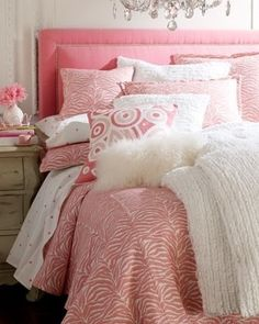 Zebra Print Comforter ... So Cute