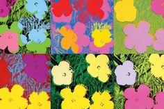Flores. 1970. Acrílica. Andy Warhol  (Pittsburgh, PA, USA, 06/08/1928 - 22/02/1987, Nova York, NY, USA).