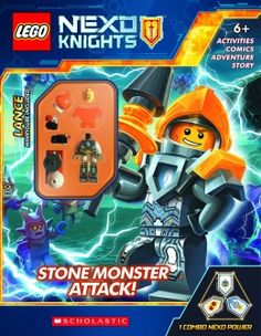 LEGO NEXO KNIGHTS Activity Book with Minifigure #3