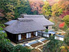 横浜 Yokohama/ 関家の書院と主屋 The oldest Kominka in the Kanto area.