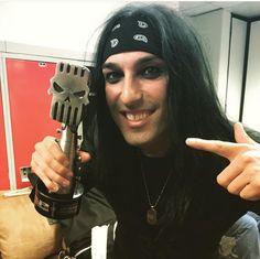 CC won best Drummer at the Alternative Press APMA'S!!!!!!!!!!!!