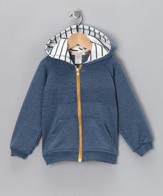 Look what I found on #zulily! Blue Zippity Doo Zip-Up Hoodie - Toddler #zulilyfinds