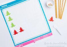 Sorbetes de papel decorados para Navidad - Guía de MANUALIDADES