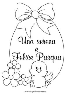 biglietti-pasqua-auguri Easter Projects, Easter Crafts, Easter Ideas, Easter Coloring Pages, Coloring Pages For Kids, Drawing Cartoon Characters, Cartoon Drawings, Activities For Kids, Crafts For Kids