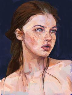 ArtStation - Recent art-portraits by Mateja Petkovic...