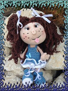 Ravelry: Project Gallery for 041 Doll Princess Amigurumi toy Ravelry pattern by LittleOwlsHut
