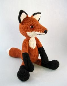 Editor's Inspiration: Bracken the fox crochet pattern by Lucy Collin