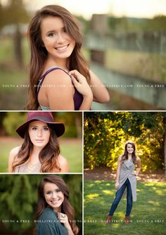Country-inspired Senior Pictures in a Portland suburb with high school senior, Delaney, by Oregon Senior Portrait Photographer for the Young & Free, Holli True.