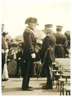 John Coalter Bates, Chief of Staff of the United States Army, during day one of the 1904 World's Fair