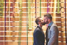 Boys in the Urban Bayou: A New Orleans-Themed Gay Wedding