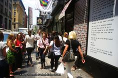 Mark Fisher American Photographer™: A Busy Sidewalk • American Photographer Mark Fishe...