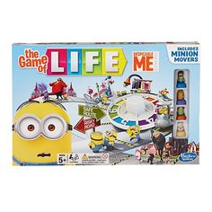 Play The Game of Life with Despicable Me minions! Just choose your Minion, choose a job, and let the adventure begin. You'll sing at Gru's wedding, steal the Moon, and other wacky escapades - but watch out for the evil Minions as you try to bag 5 bunches Despicable Me Game, Minion Games, Minion Toy, Evil Minions, Minion Movie, Minions Despicable Me, My Minion, Funny Minion, Minion Stuff