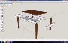Tutorial Sketchup Membuat Meja Berdasarkan Komponen - Tutorial tersebut sangatlah mendasar dan penting baik bagi pemula maupun profesional. Jadi menerapkan atau membuat gambar berdasarkan komponen merupakan keharusan menurut saya pribadi.