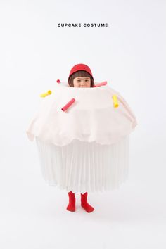 DIY: Cupcake Costume for Halloween