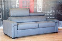 belliuno modular 3 seater fabric sofa bed with double bed u2013 sofa bed heaven