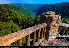 West-Virginia Coopers Rock St- | ... Coopers Rock from Coopers Rock State Forest, WV taken on July 2, 2010