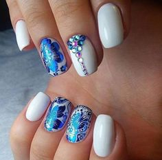 10 Beautiful Floral Nail For Every Girl To Try