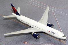 Flight Miniatures Boeing 777-200 Delta 2002 Olympic Games 1//200 Scale Model