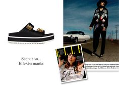SEEN IT ON .... ELLE GERMANY Kick off the summer season with style!   www.lesillacom