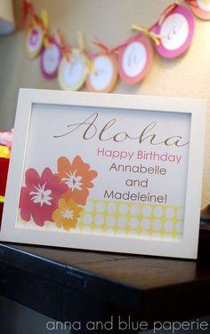 Aloha Summer | CatchMyParty.com