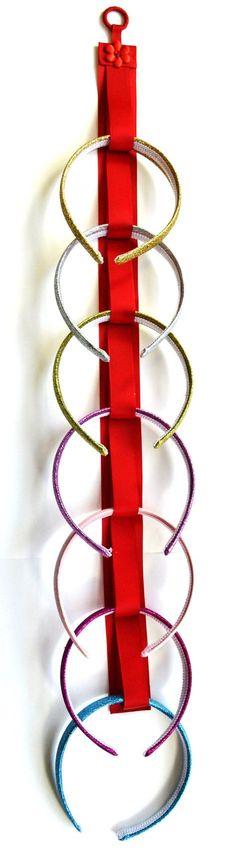 ONE Handmade Ribbon Headband Holder by FunnyGirlDesigns on Etsy