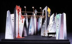 Stage Set Design - Don't know what this is for, but had a semi-similar idea for City of Angels.