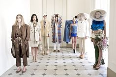 Menghui Jiang / Vivienne Westwood - SS womenswear 2016