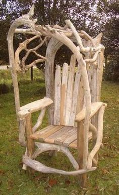 4 The Love Of Wood: CHAIRS   Driftwood