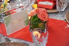Put table names in pretty frames so guests can find their place at the reception