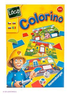 Настольная игра 'Лого Колорино' от Ravensburger по цене 490 руб. - Купить в интернет-магазине Wildberries, читать отзывы