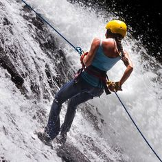 Dropping into a Monday has never been this fun! The extreme waterfall rappel is just one of a half dozen other eco-adventure tours we offer. To experience all of Costa Rica in one place visit our site today! {link in profile} Pura Vida!  #oceanranchpark #costarica #cr #costa #puravida #eco #rainforest #jungle #jaco #adventure #adventuretime #ecotourism #travel #best #instagood #travelstoke #wildernessculture #fun #thisiscostarica @visit_costarica @travelandleisure @travelchannel