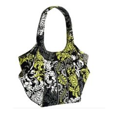 Vera Bradley Baroque Tote This is a Vera Bradley side by side style tote in Baroque. Only used once. So cute, pictures show that the inside and bottom are like new and show no signs of wear! Comes from a smoke free and pet free home.  Vera Bradley Bags Totes